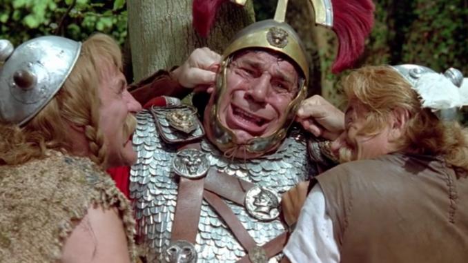 Галлы жарят шашлык из римлян 200