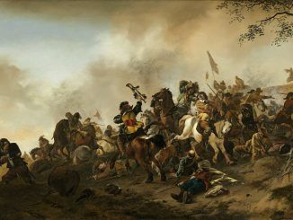 Война за Германский форт во время эпидемии 31